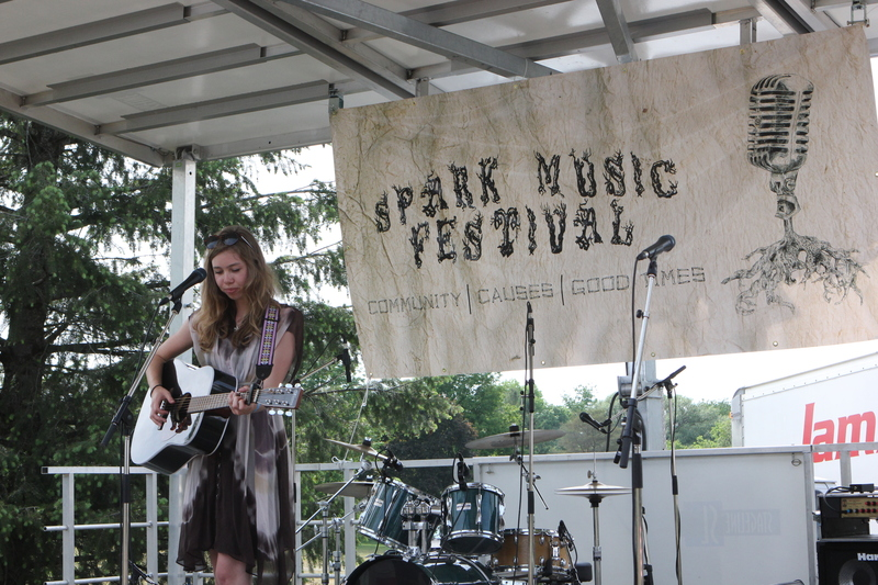 Spark Festival brings out local acts