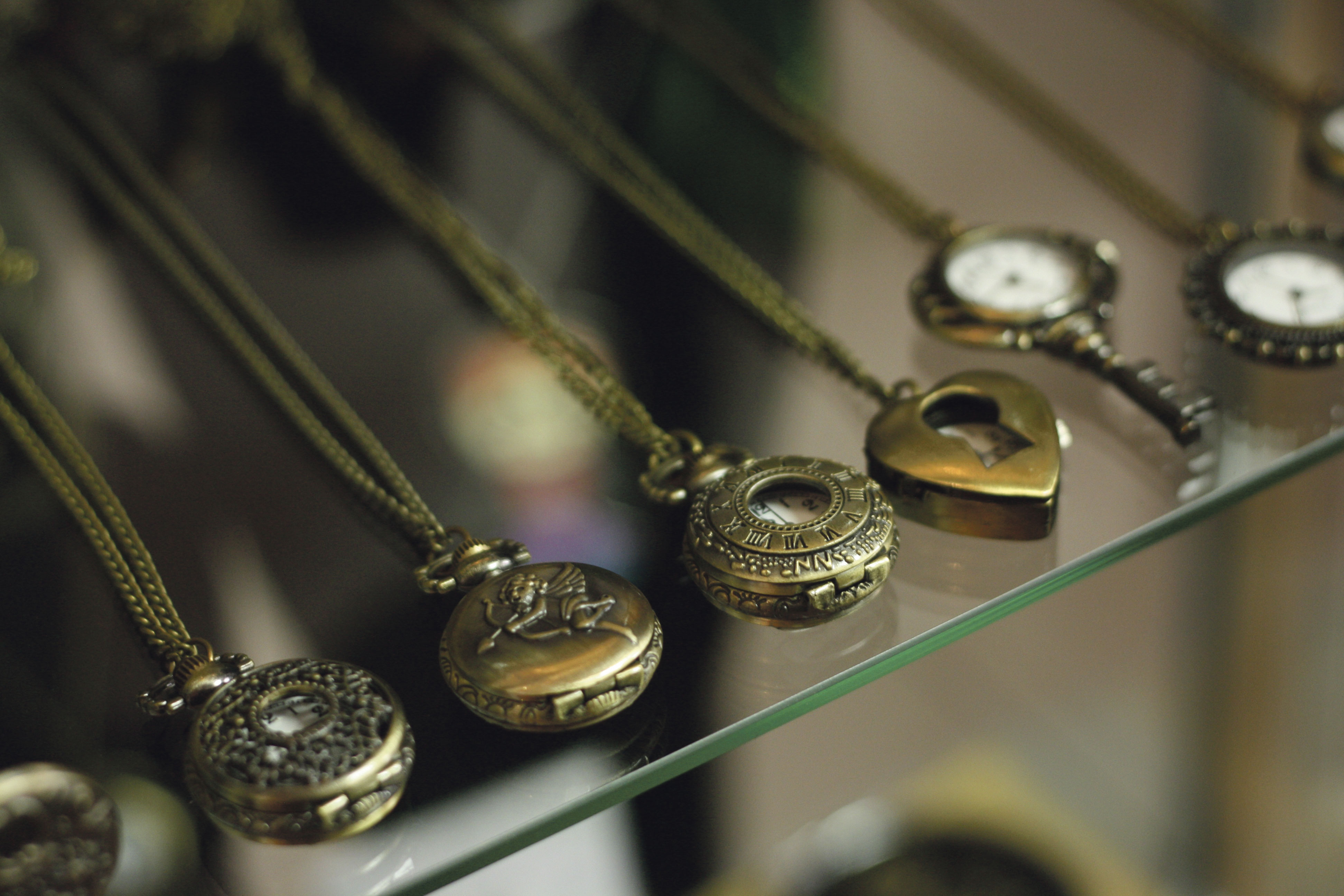 Vintage jewelry can add character and help update outfits (Photo by Heather Davidson)