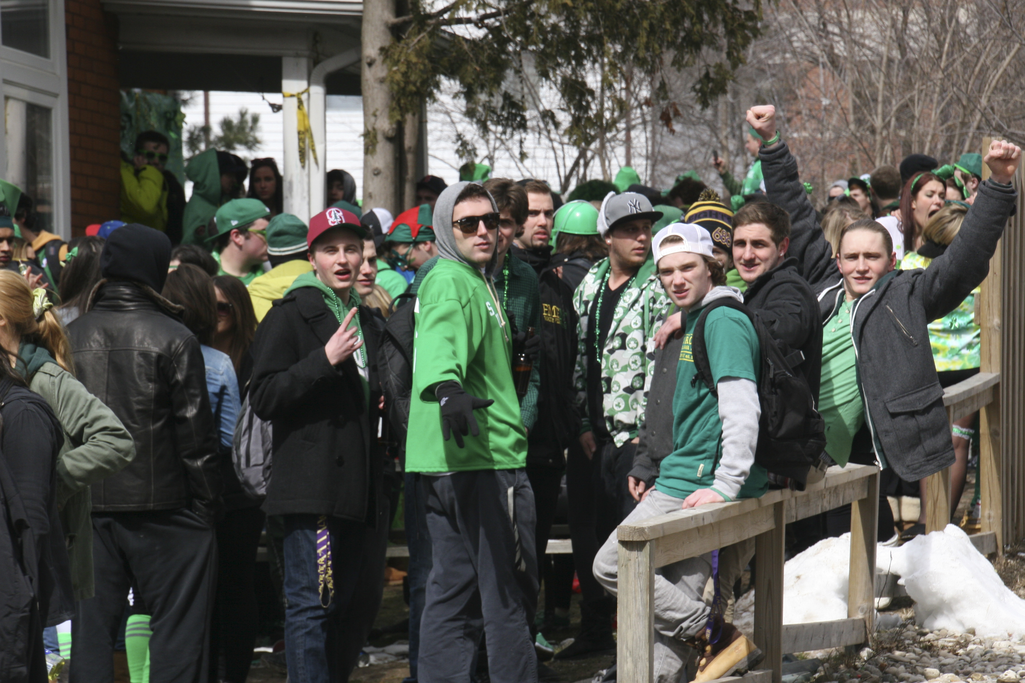 St. Patrick's Day stirs controversy at Laurier