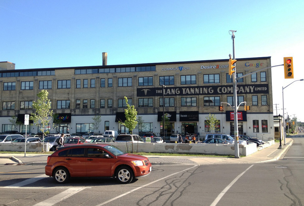 Communitech is located at the Tannery building in Kitchener and is one of four businesses locally that received government funding. (File photo by Mike Lakusiak)