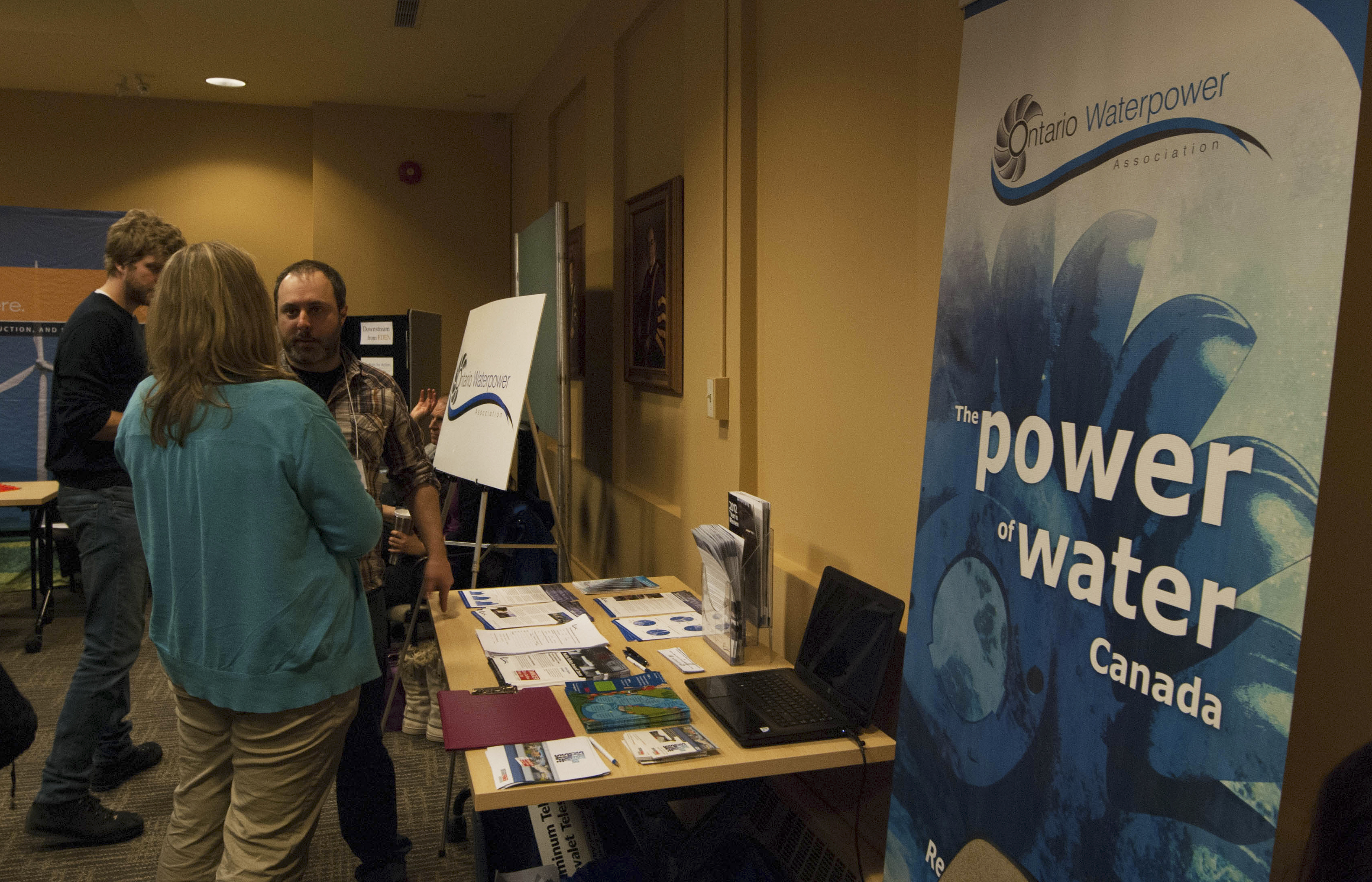 Discussing the policies behind water supplies