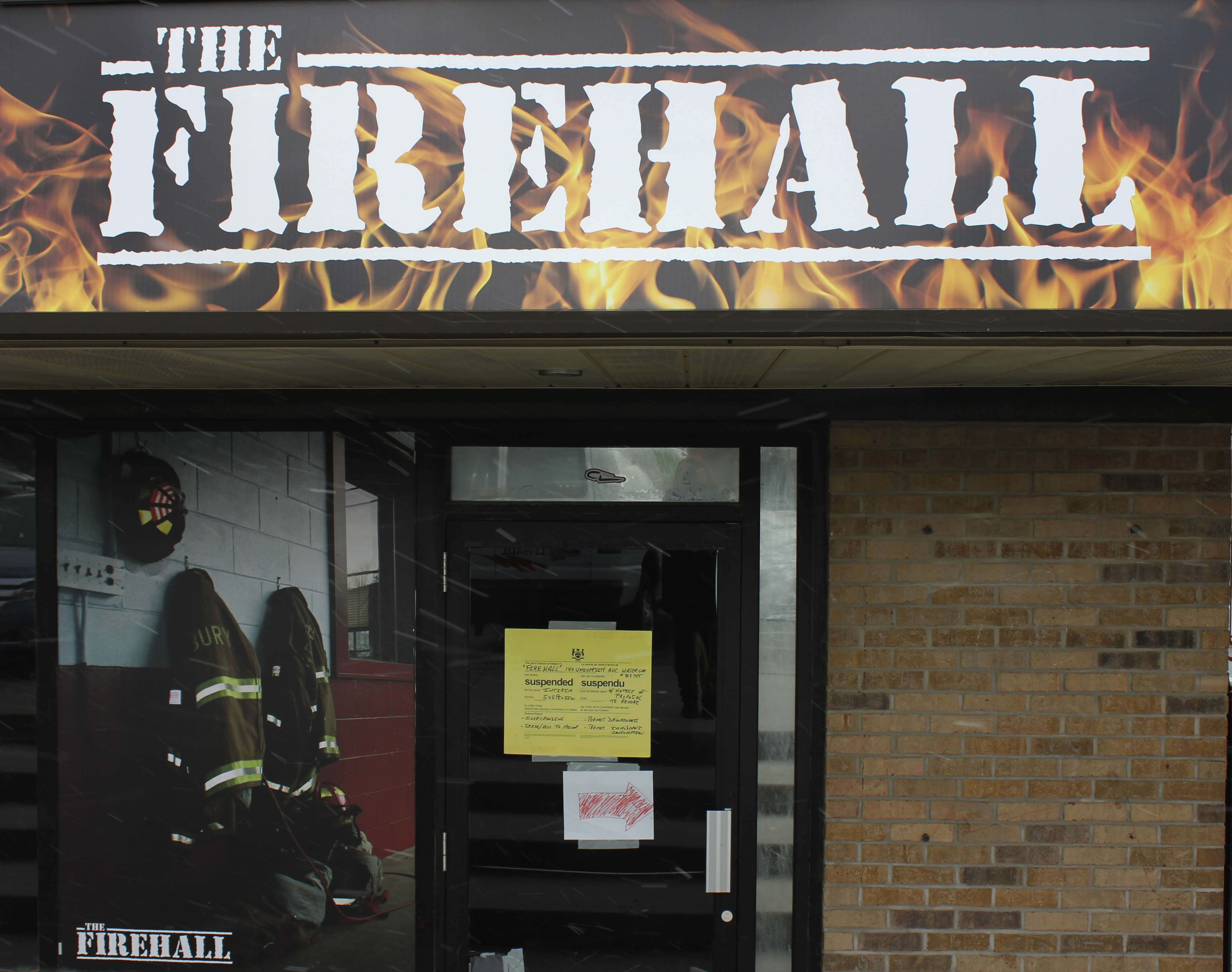 The Firehall is located at a plaza near the University of Waterloo. (Photo by Dana Silvestri)