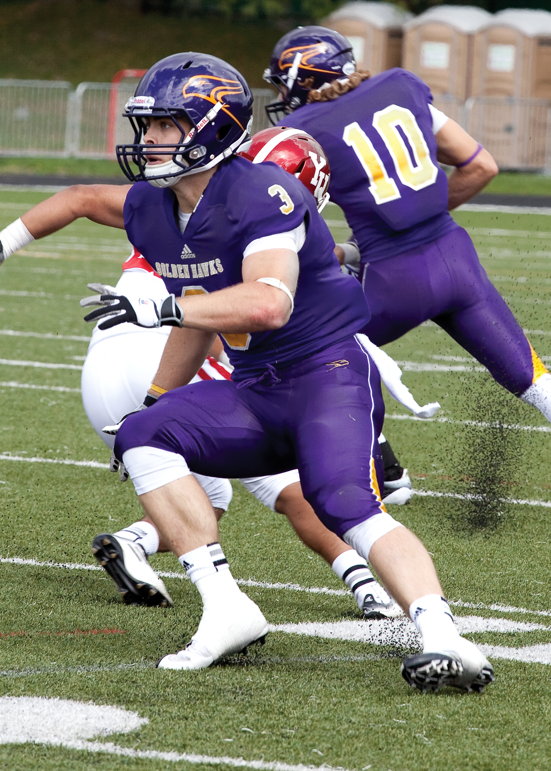 Alex Anthony still has one more year of eligibility if he wanted to come back to Laurier. (File photo by Kate Turner)