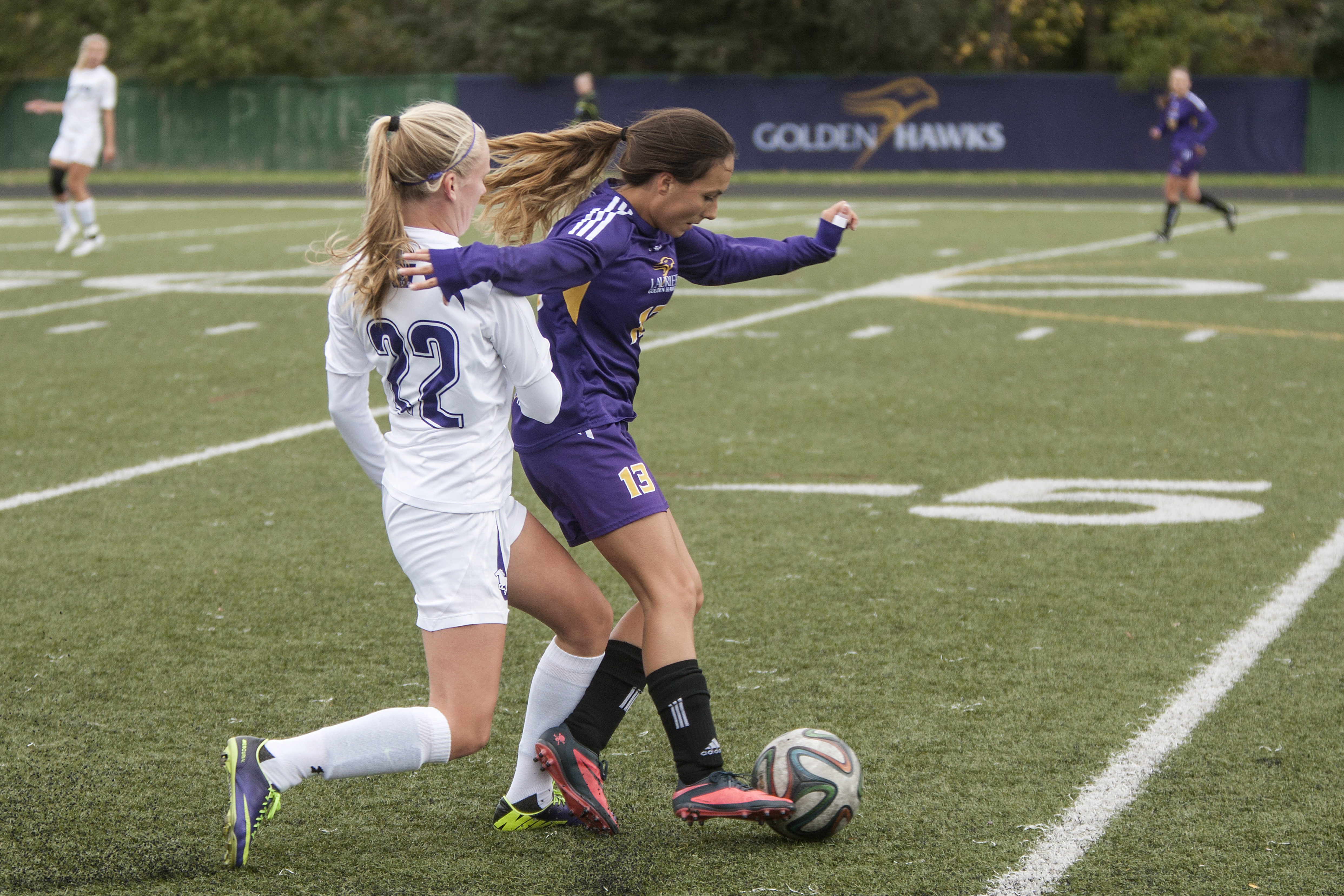 Playoff-bound for women's soccer
