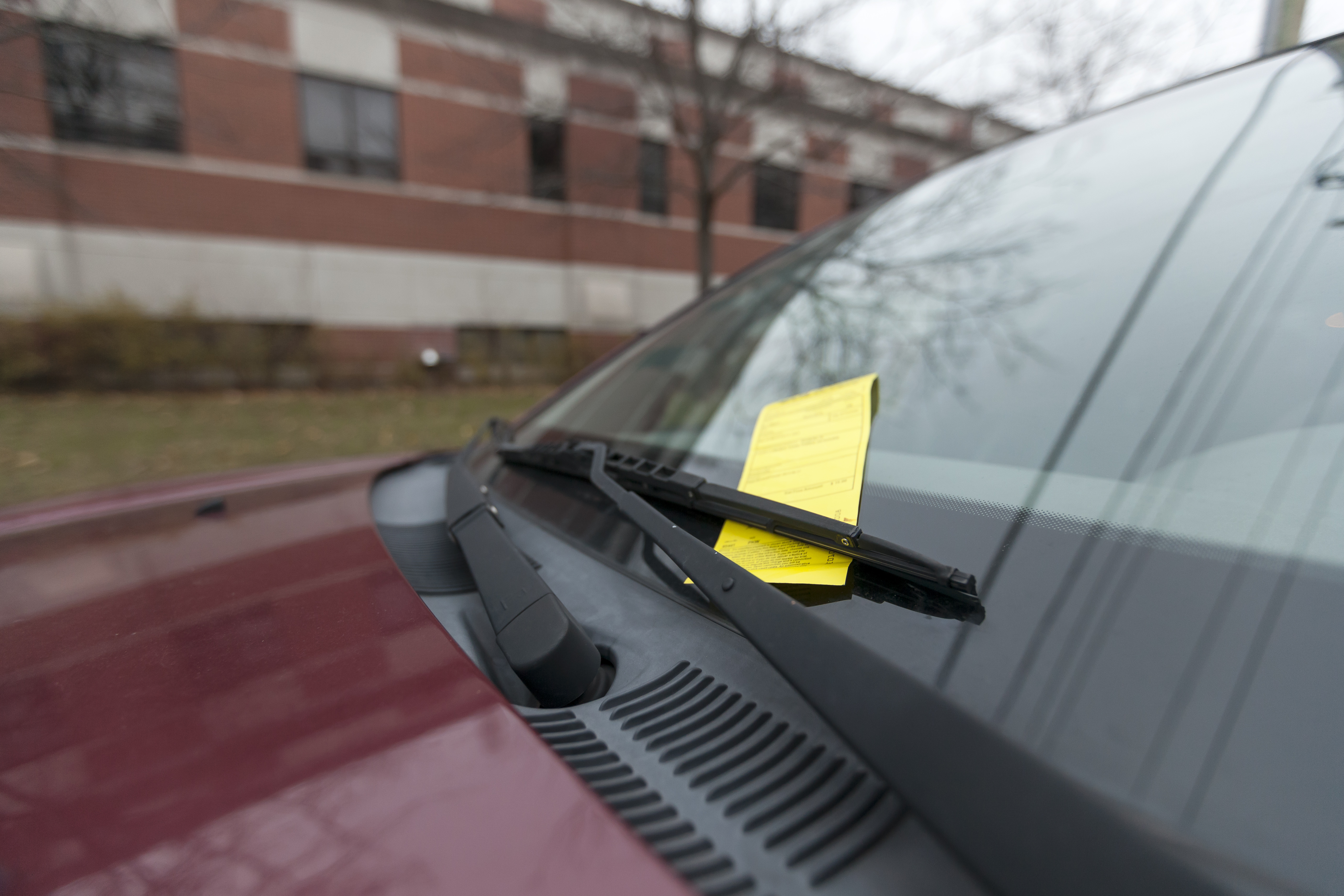 Number of parking tickets increases in fall