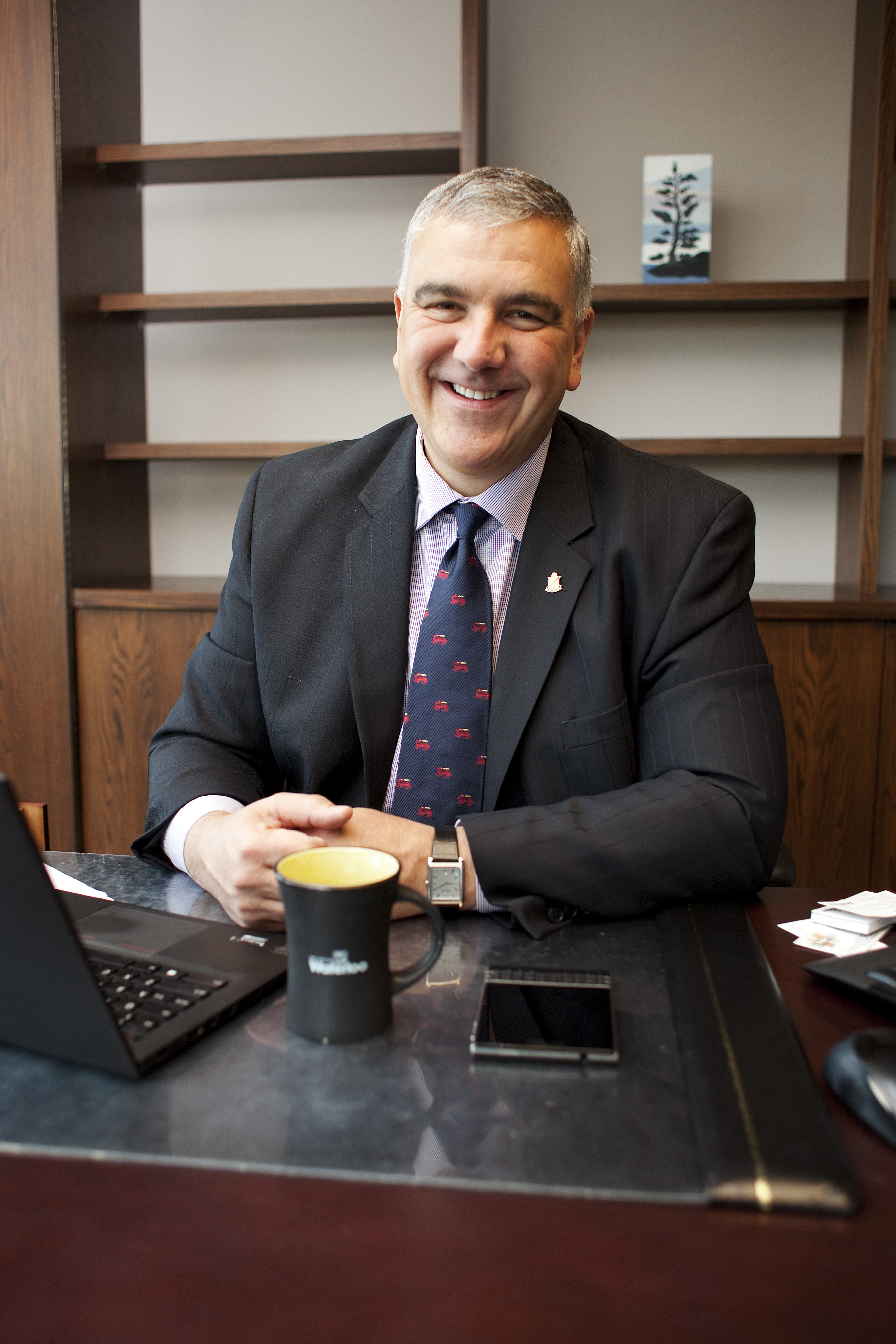 New mayor Dave Jaworsky Inaugurated