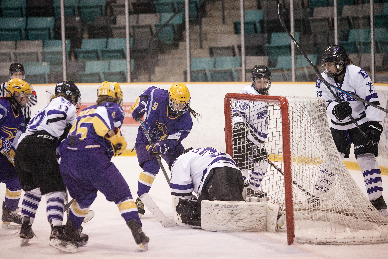 Hawks swept on home ice
