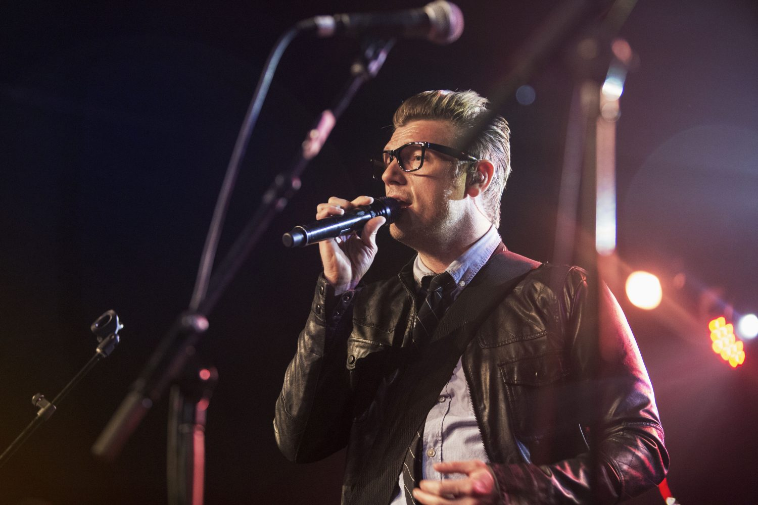 Nick Carter performs at Maxwell's