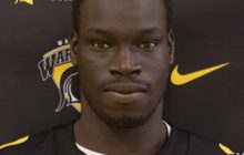 Lam Diing played wide receiver for the Waterloo Warriors. Photo courtesy of University of Waterloo.