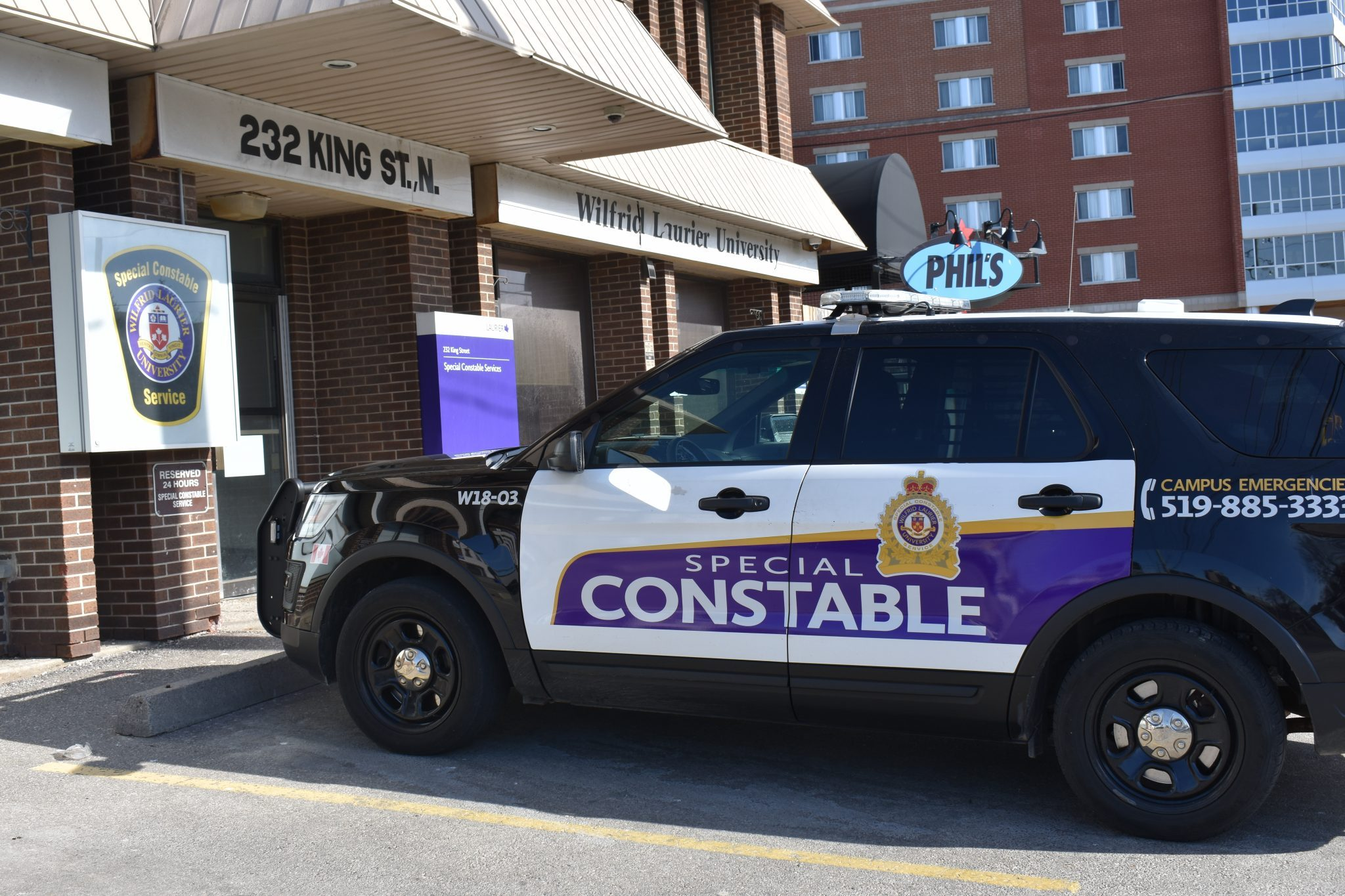 Laurier releases Special Constable Services survey